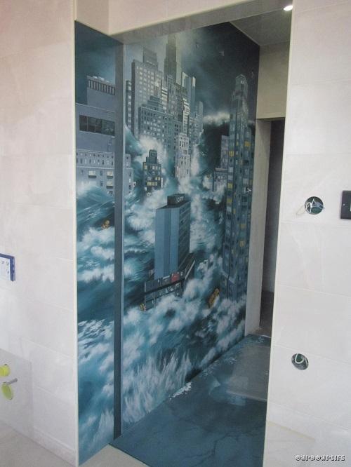 роспись в квартире