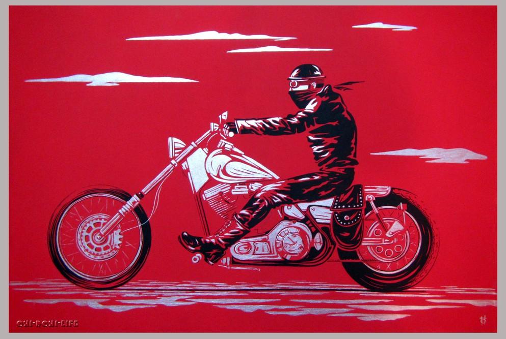путешествие на мотоцикле harley davidson