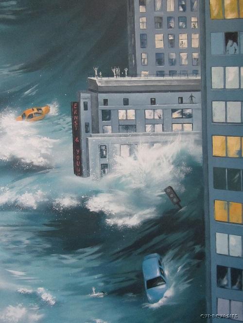 катастрофа в городе