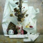 натюрморт с китайской вазой