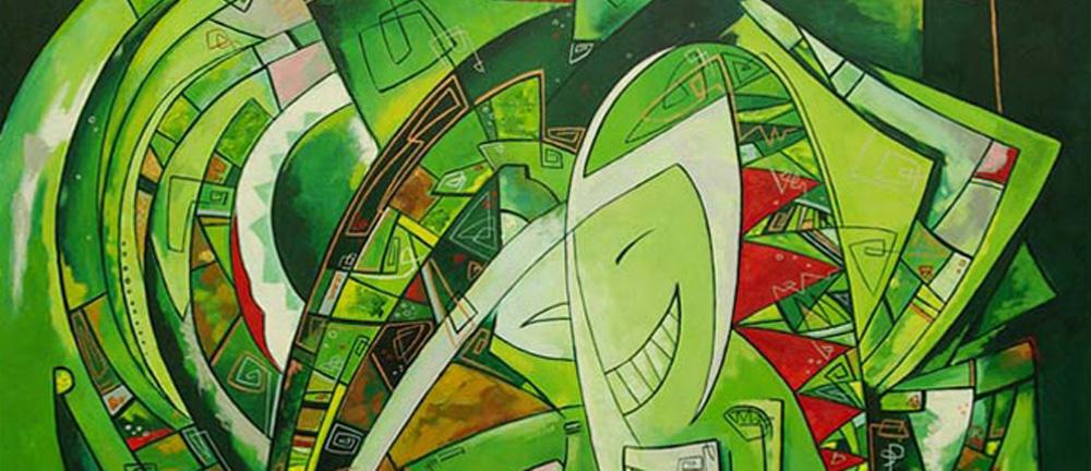 декоративная живопись,абстракция