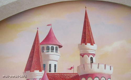 крыши замка