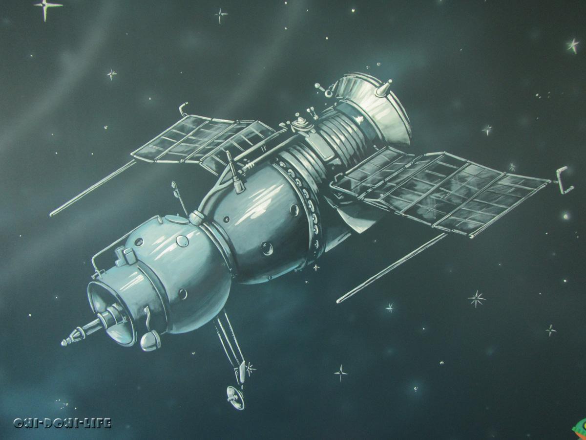 космичечкий корабль прогресс,союз
