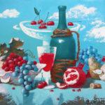 вино фрукты