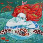 русалка черепаха