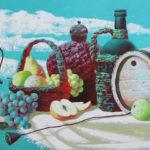 фрукты натюрморт декоративный