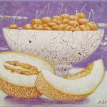 фрукты дыня черешня