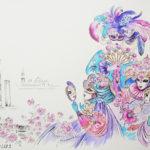 карнавал маскарад венеция праздник костюм маска