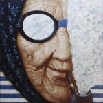 бабушка старушка трубка