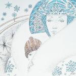 графика снежная королева кай зима сказка