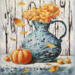 осень тыква натюрморт