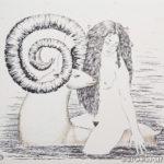 сказочные существа купание девушка